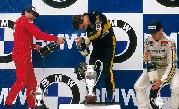Estoril 1985, Senna's first win