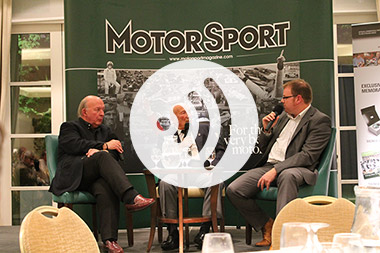 Reader event with Sir Stirling Moss