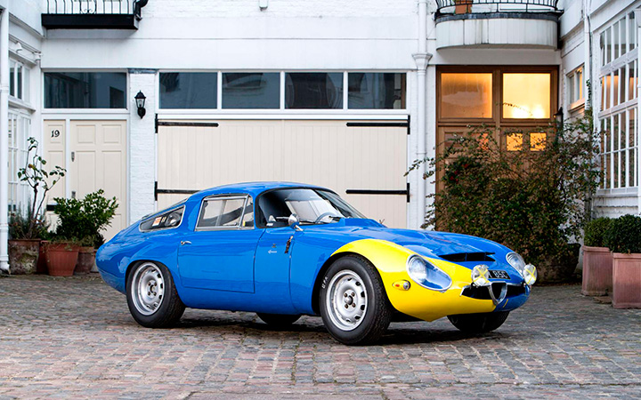 Classified spotlight: Alfa Romeo TZ