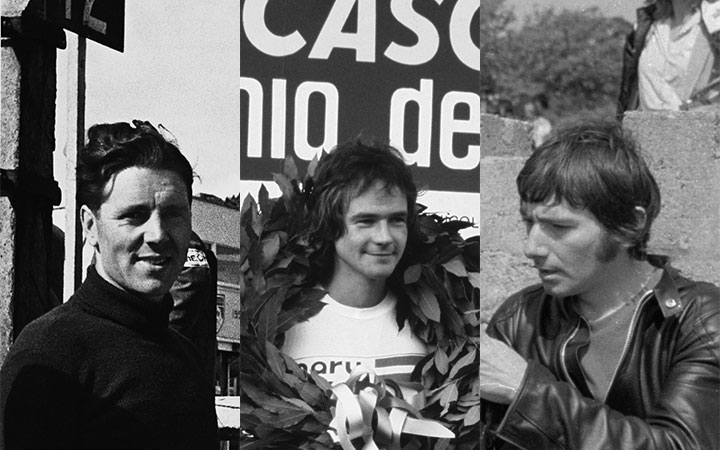 Duke, Sheene and Dunlop: three great British bikers