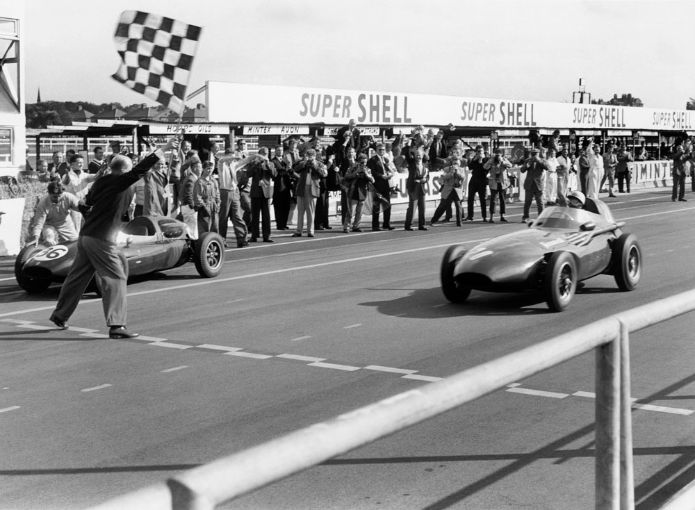 Vanwall and BRM confirmed for Hall of Fame display