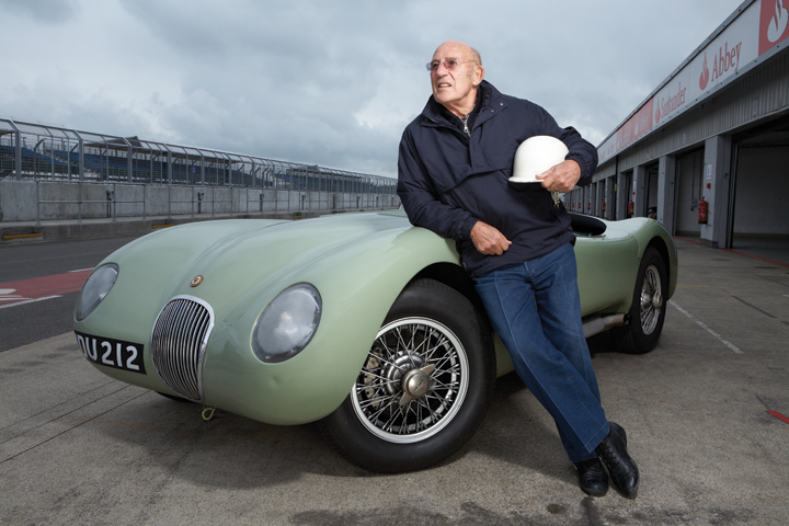 Moss and Chinetti cars join Hall of Fame celebrations