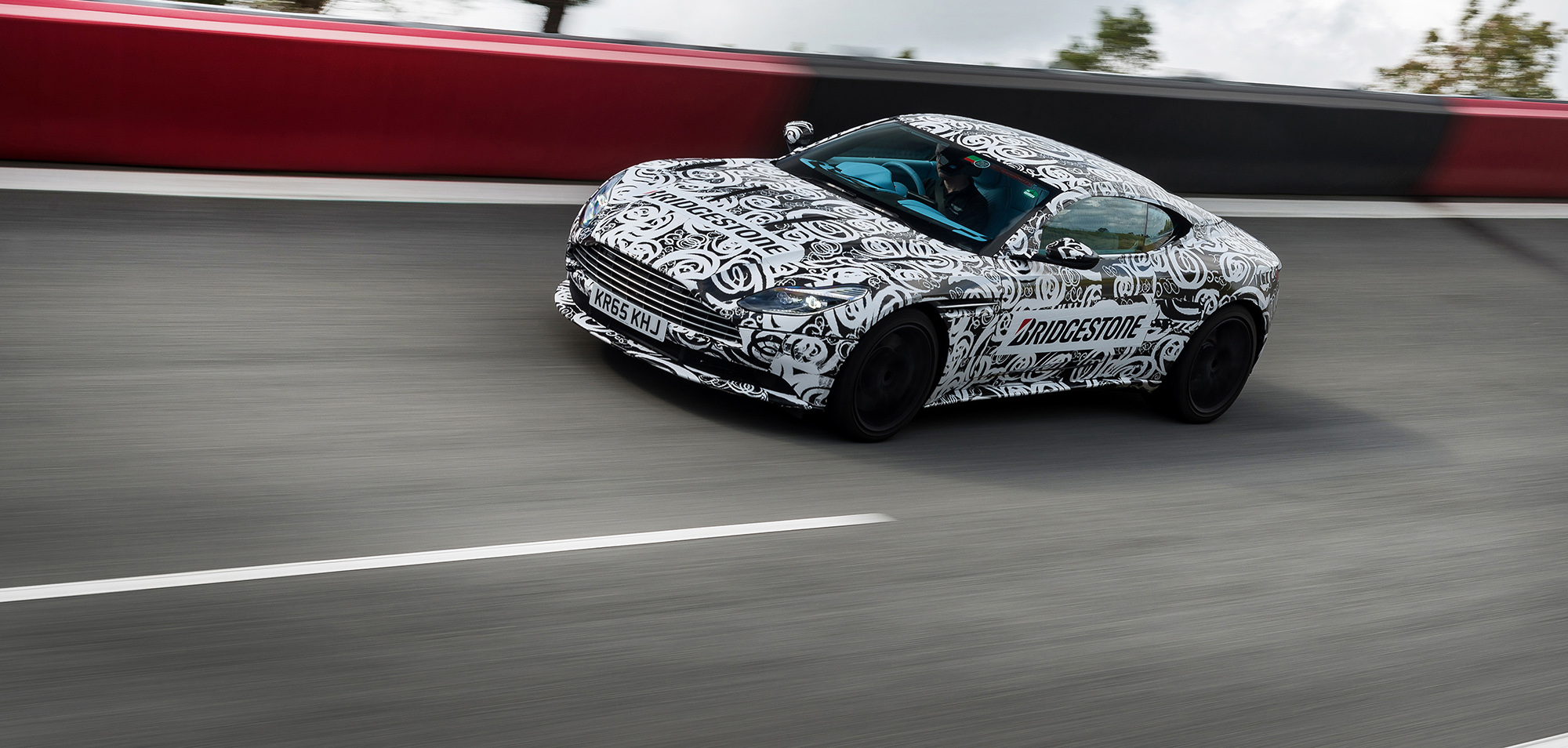 The promising Aston Martin DB11