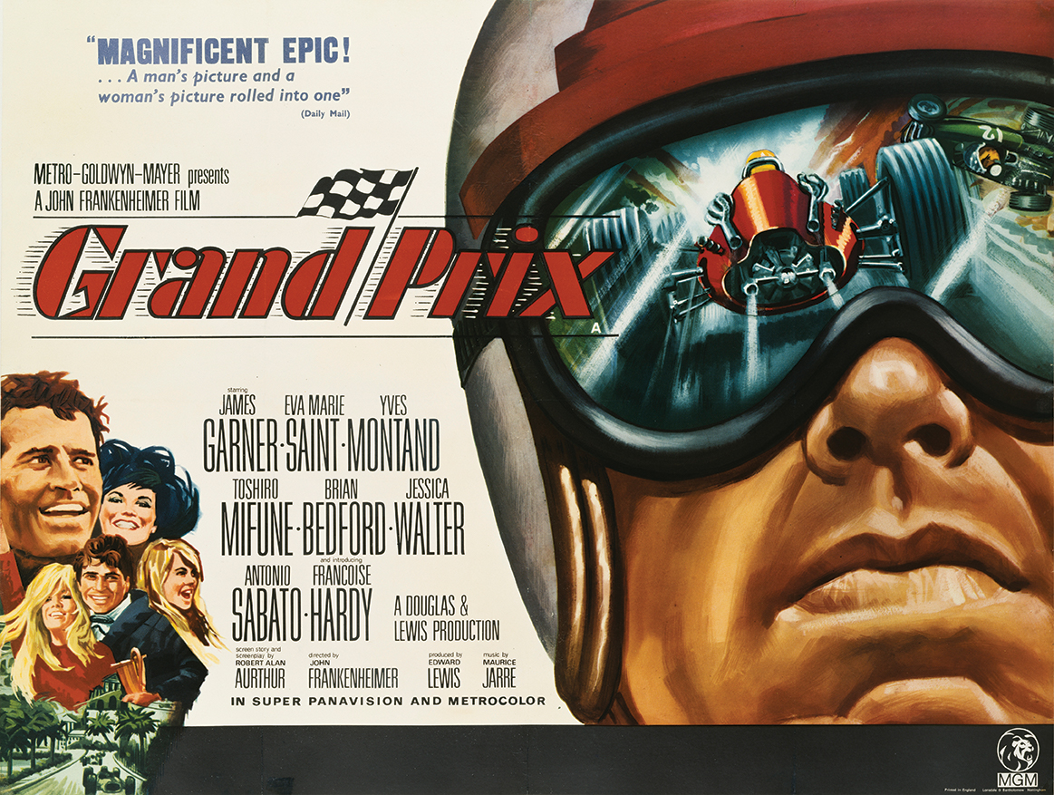 'Extra' memories of Frankenheimer's Grand Prix