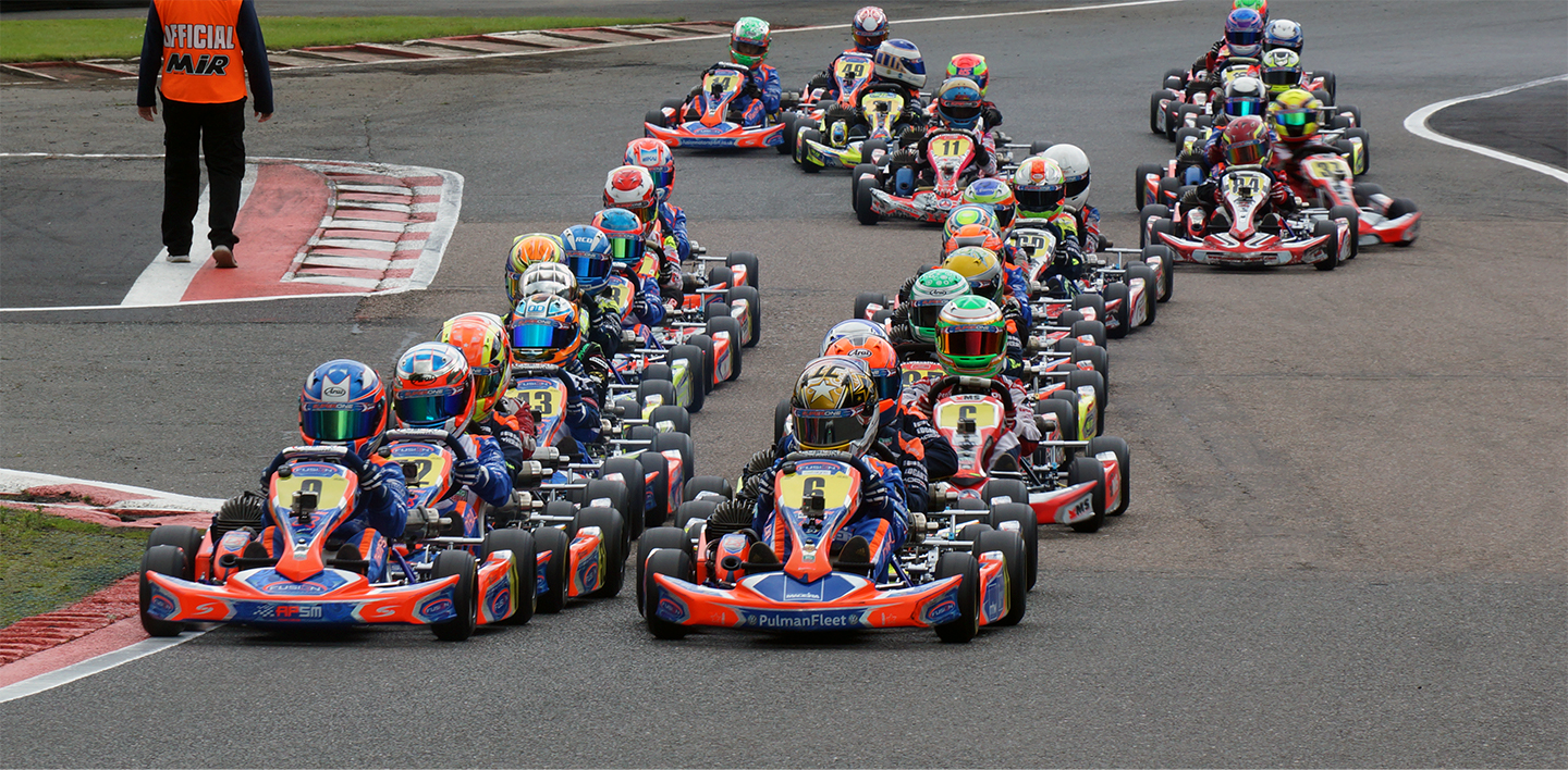 The professional world of karting