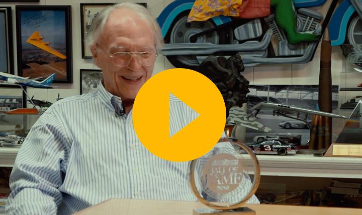 Watch: Dan Gurney's Hall of Fame acceptance speech