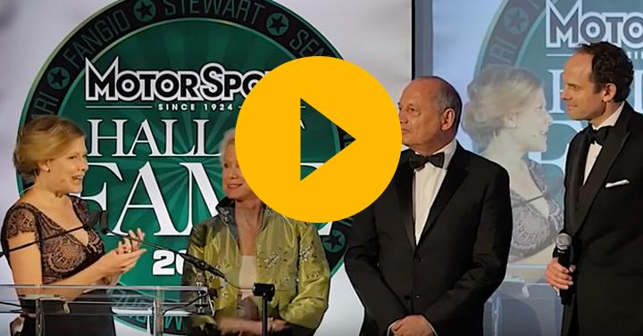 Ron Dennis and Derek Warwick honour Sid Watkins