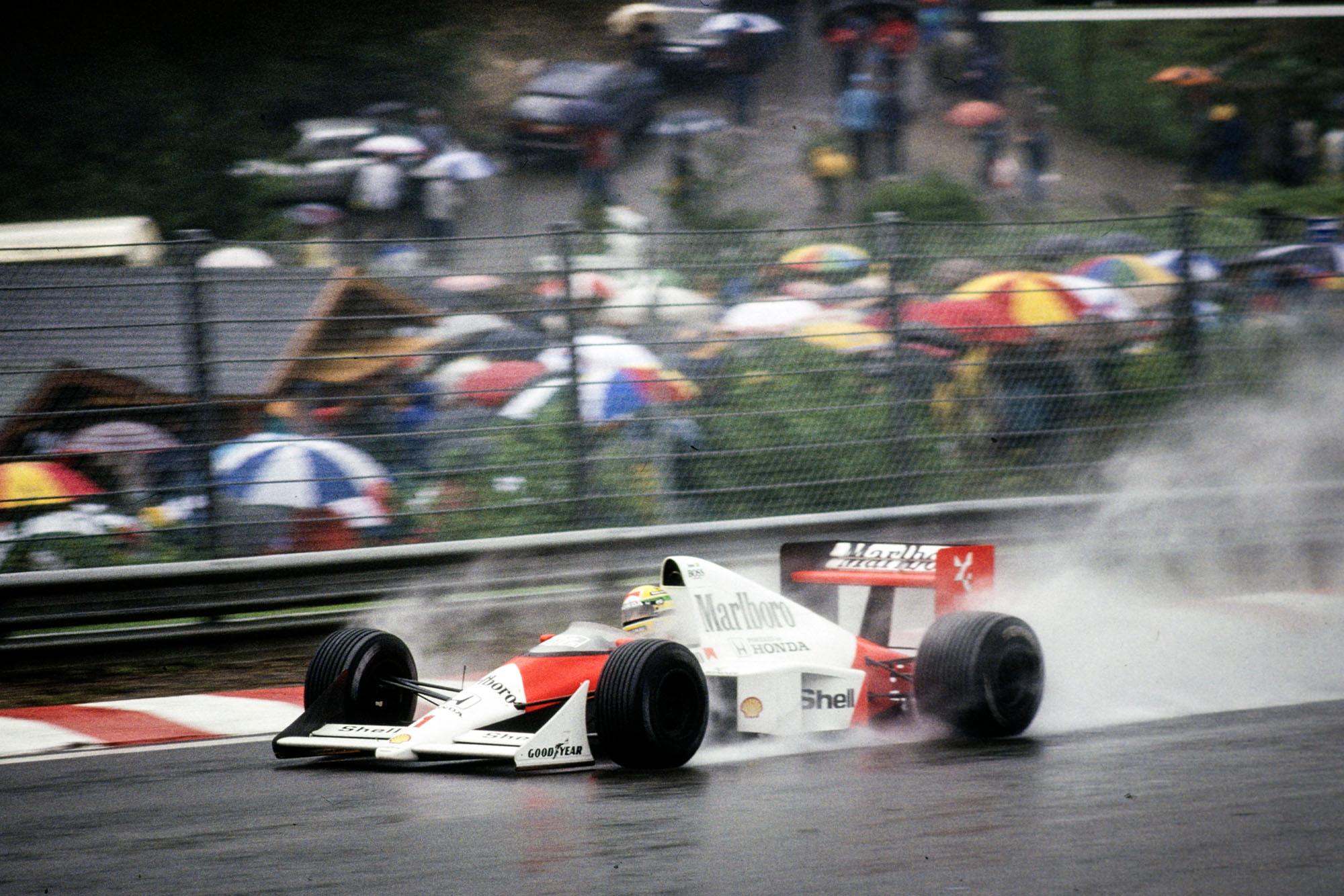 1989 BEL GP finish
