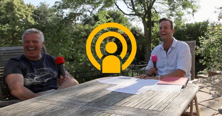 Derek Warwick podcast, in association with Mercedes-Benz