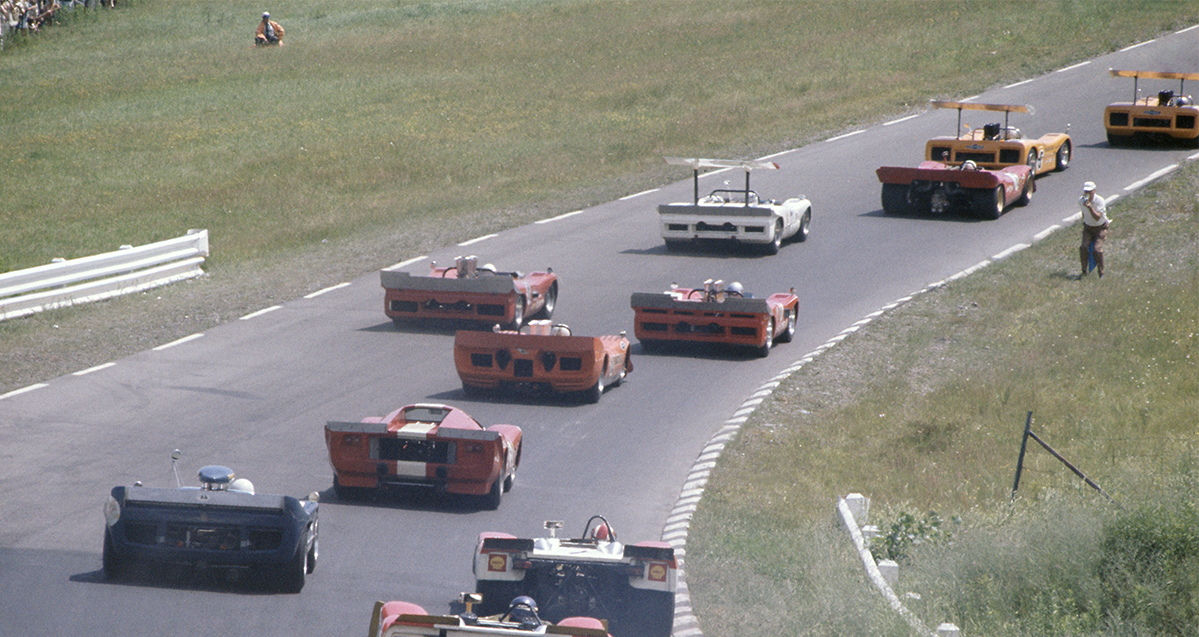 The British Grand Prix on tour; sports cars at the Glen