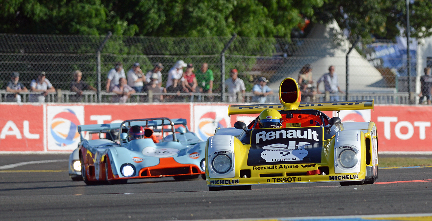 A postcard from the Le Mans Classic