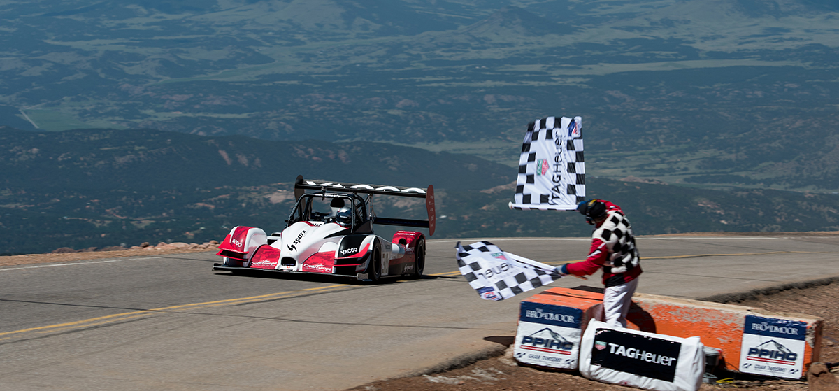 Watch: Onboard with Romain Dumas at Pikes Peak 2016