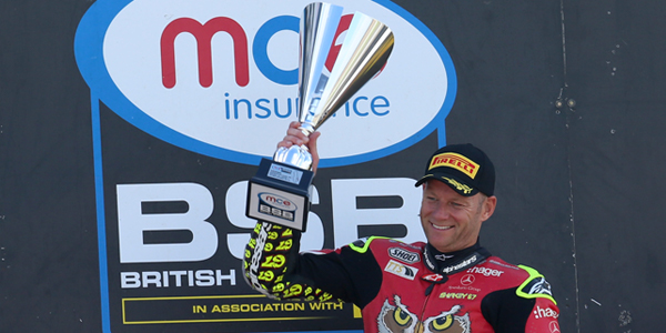 Byrne reflects on Donington double