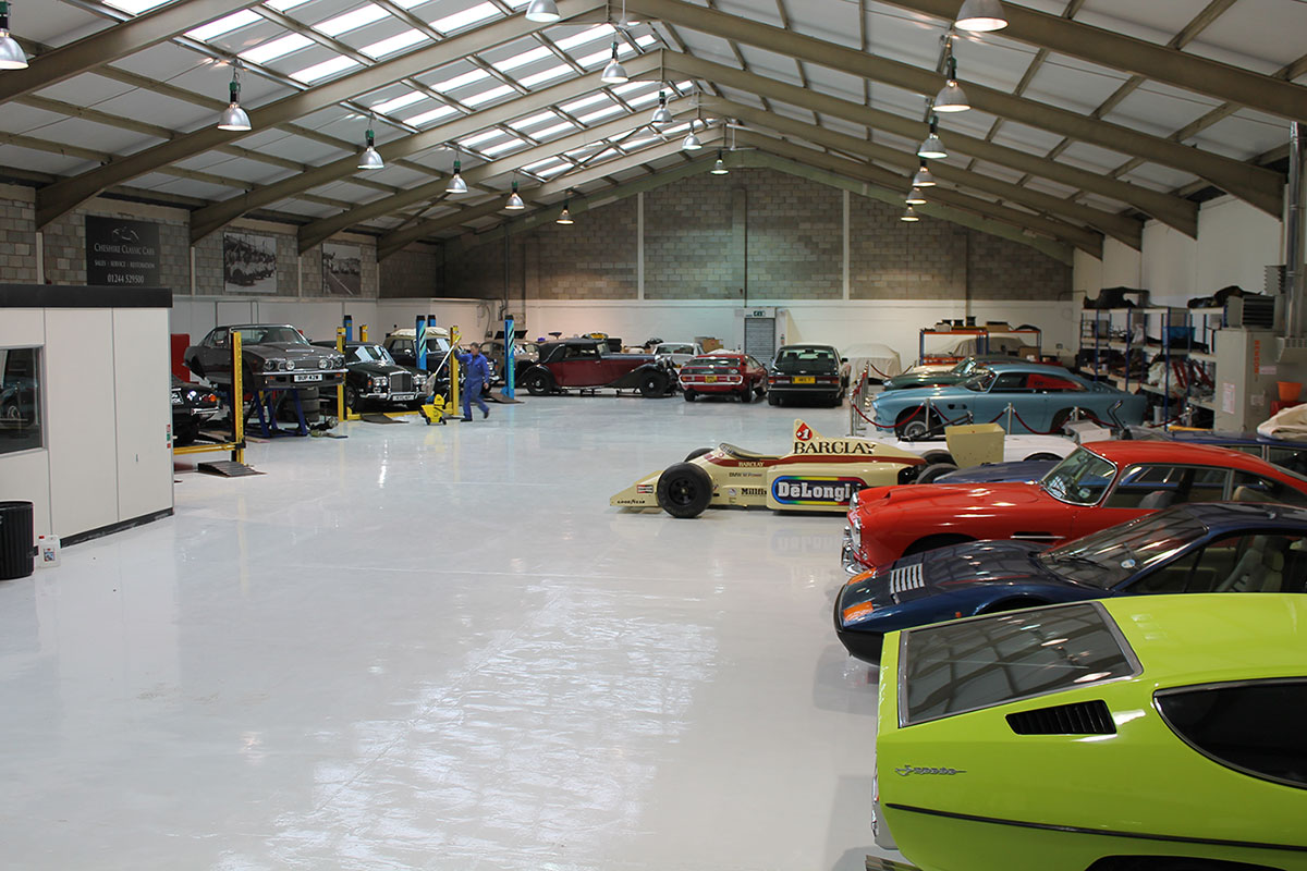 Cheshire Classic Cars visit