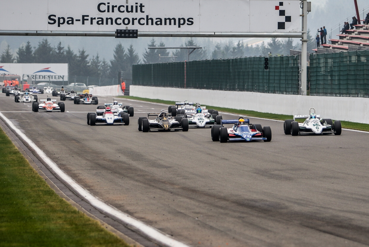 Padmore secures FIA Historic F1 crown