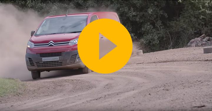 Watch: Kris Meeke goes rallying in a van