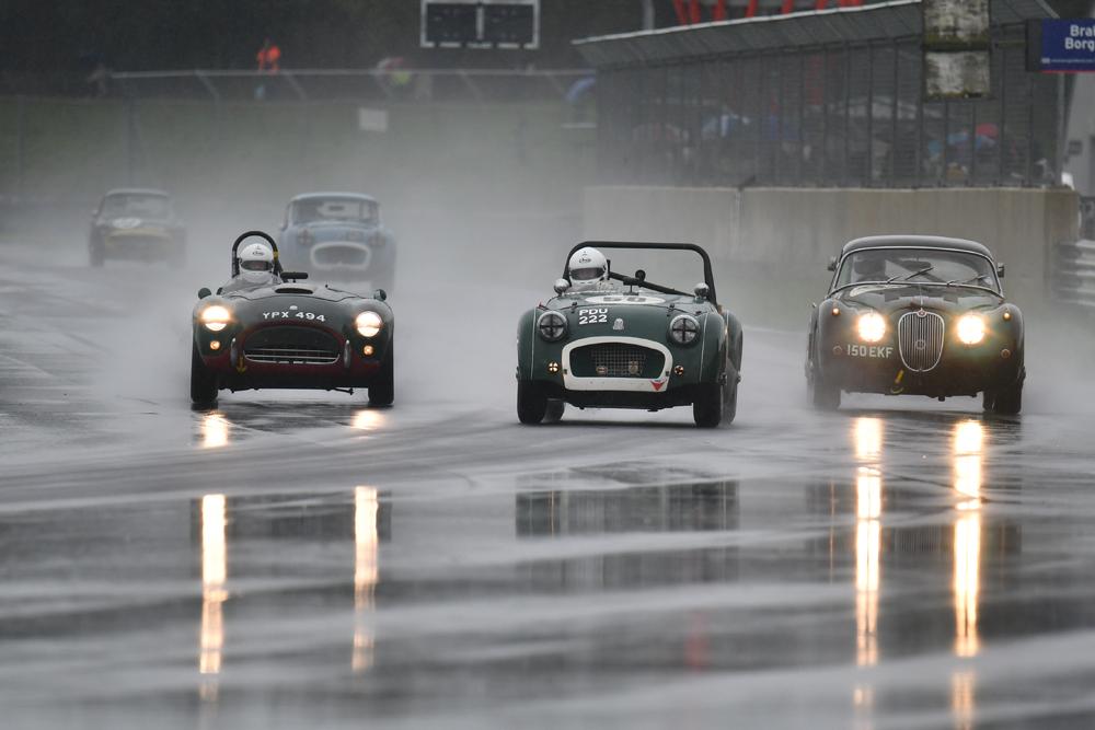 Rain hits Castle Combe Autumn Classic