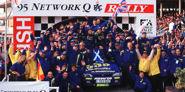 When Colin McRae won the 1995 title