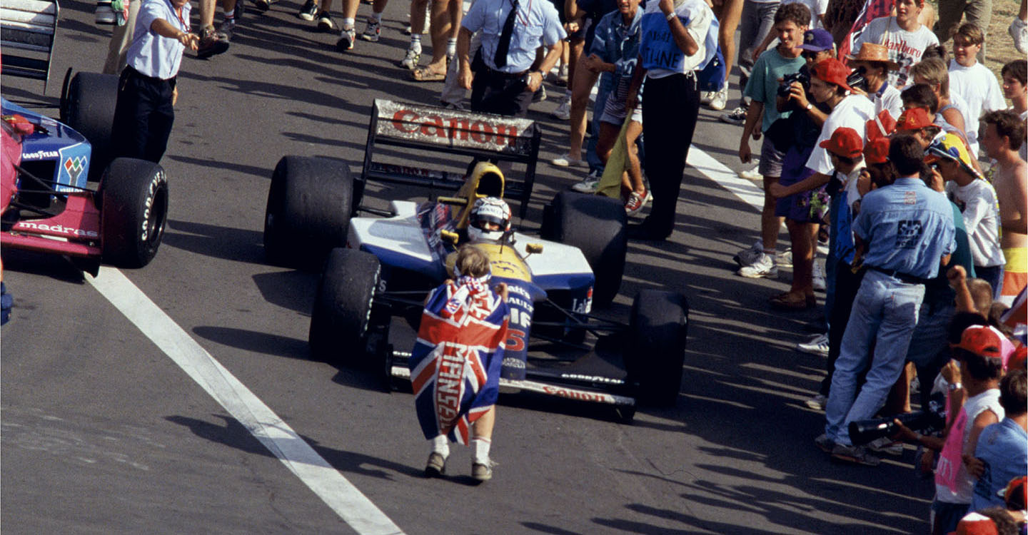 Nigel Mansell –Hall of Fame nominee