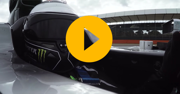 Watch: Lorenzo drives the Mercedes W05