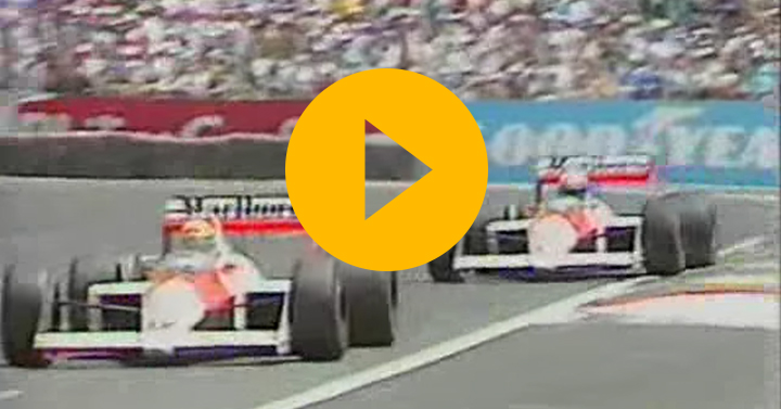 Watch: Senna v Prost at Paul Ricard