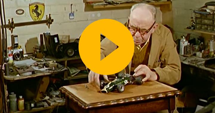 Jim Clark's Lotus 49 recreated in miniature