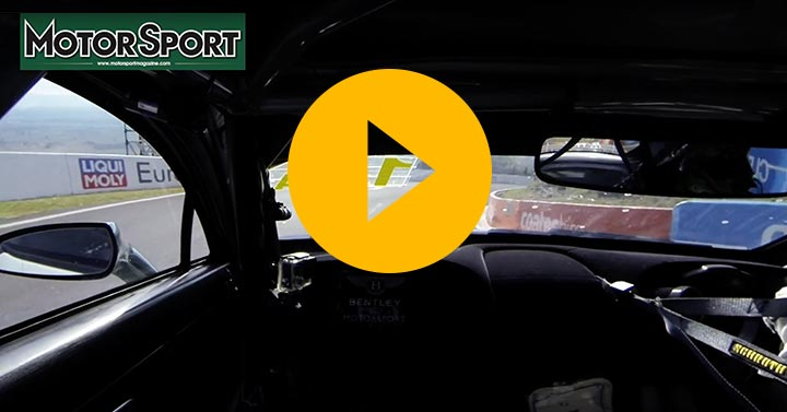 A lap of Bathurst in the Bentley GT3