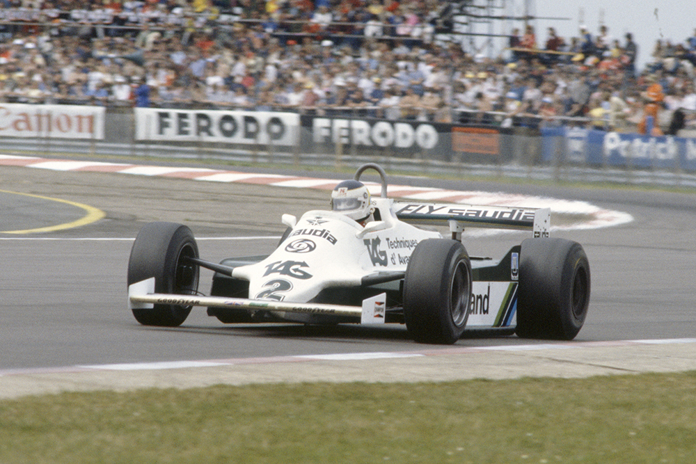Carlos Reutemann driving a Williams FW07C-Ford Cosworth.