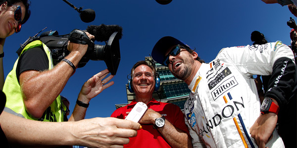 PR wins – Alonso's hectic Indy build-up