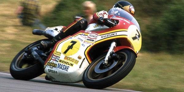 Spencer to ride Sheene Suzuki