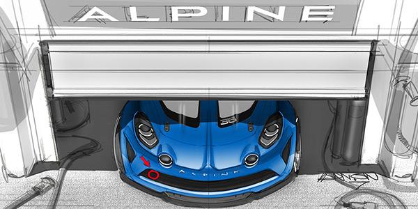 Alpine announces one-make race series