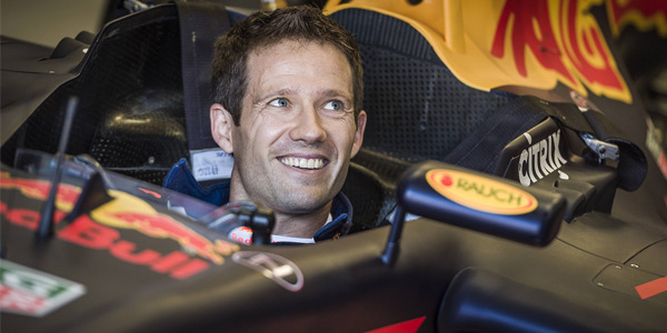 Ogier drives the Red Bull RB7