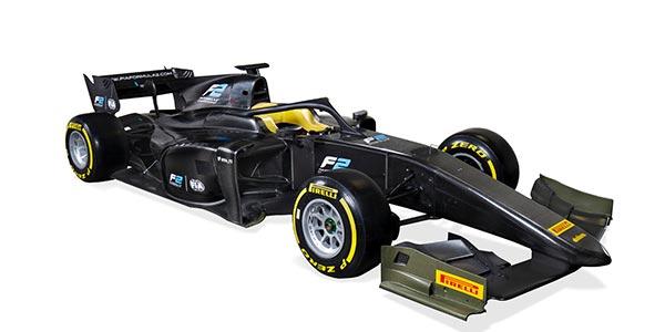 FIA reveals 2018 Formula 2 car