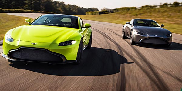 Aston Martin launches new Vantage