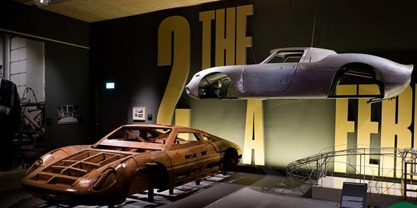 London display showcases £140m-worth of Ferrari
