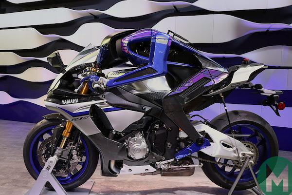 Yamaha Motobot races Rossi