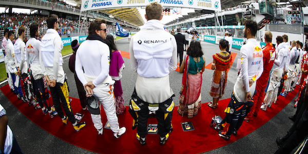GPDA boasts 100% F1 membership
