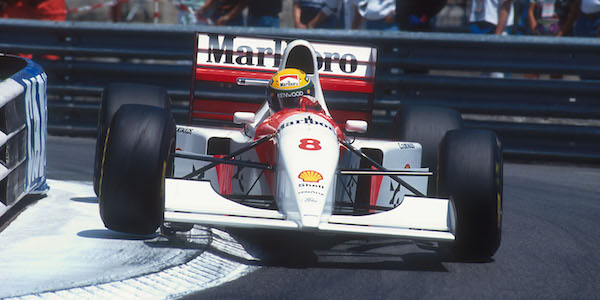 Senna's final Monaco GP winning McLaren to be auctioned