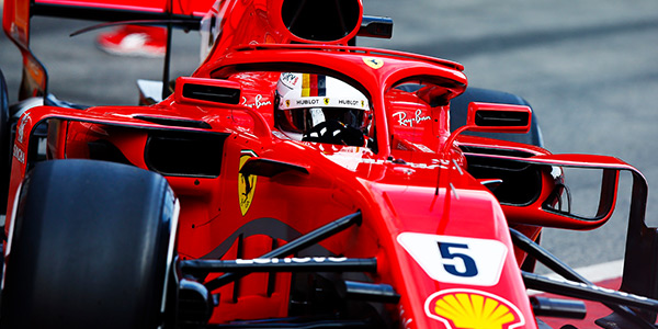 Vettel fastest on F1 testing day two