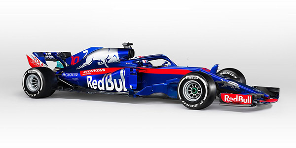 Toro Rosso officially launches STR13