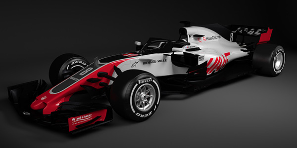 The Haas VF-18 and its Ferrari F1 DNA