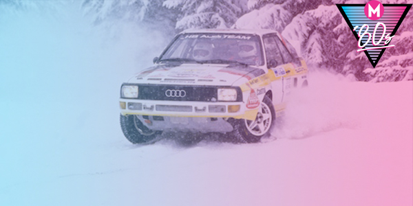 '80s month: The '80s. Distilled. On ice.