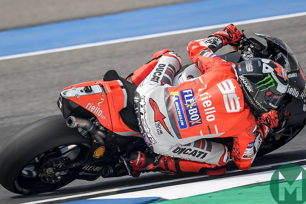 Ducati S Cornering Tool Press To Turn Motor Sport Magazine