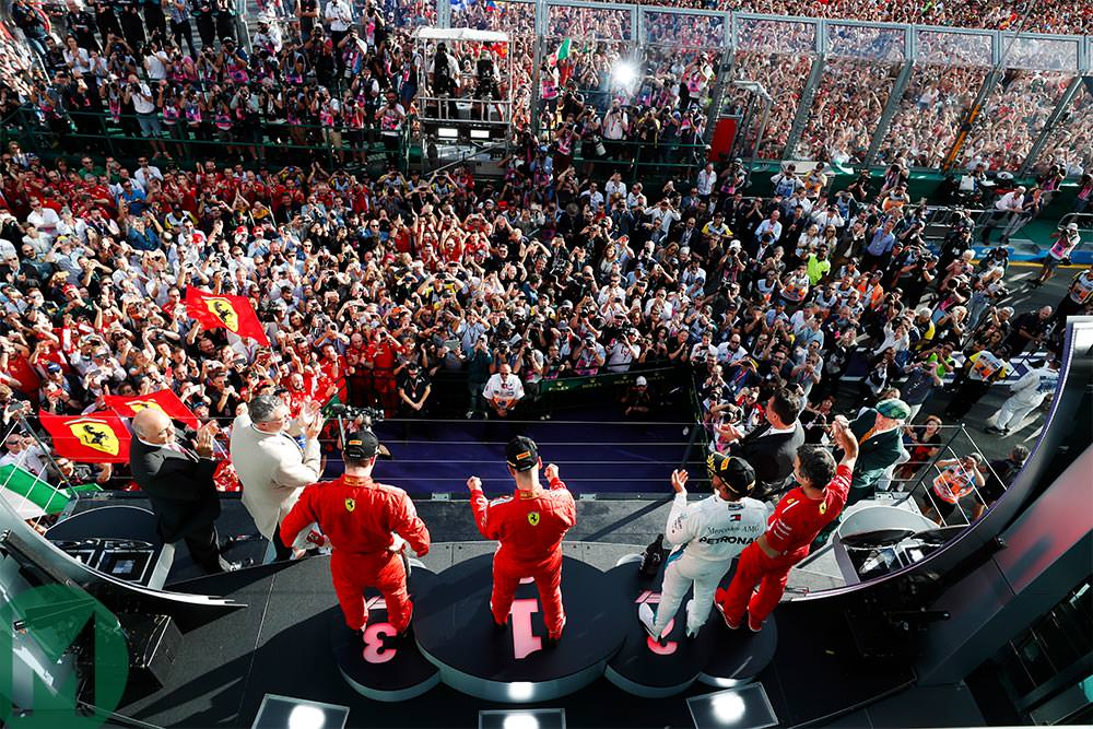 Vettel takes Australian F1 GP win for Ferrari