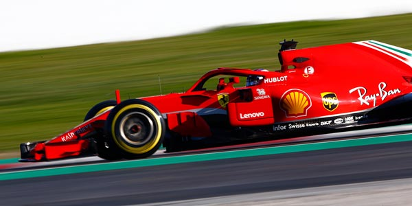 Ferrari first in final F1 testing day