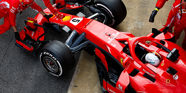 Ferrari top on penultimate day of F1 pre-season test