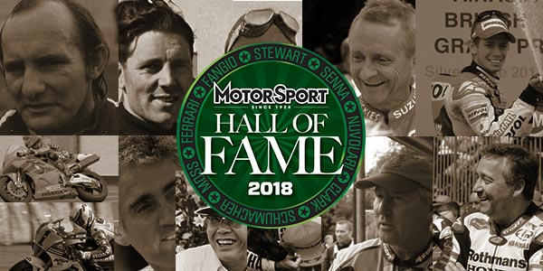 Motorcycling – Hall of Fame 2018 nominees
