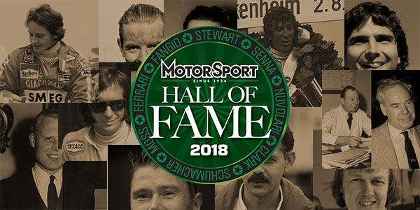 Formula 1 – Hall of Fame 2018 nominees