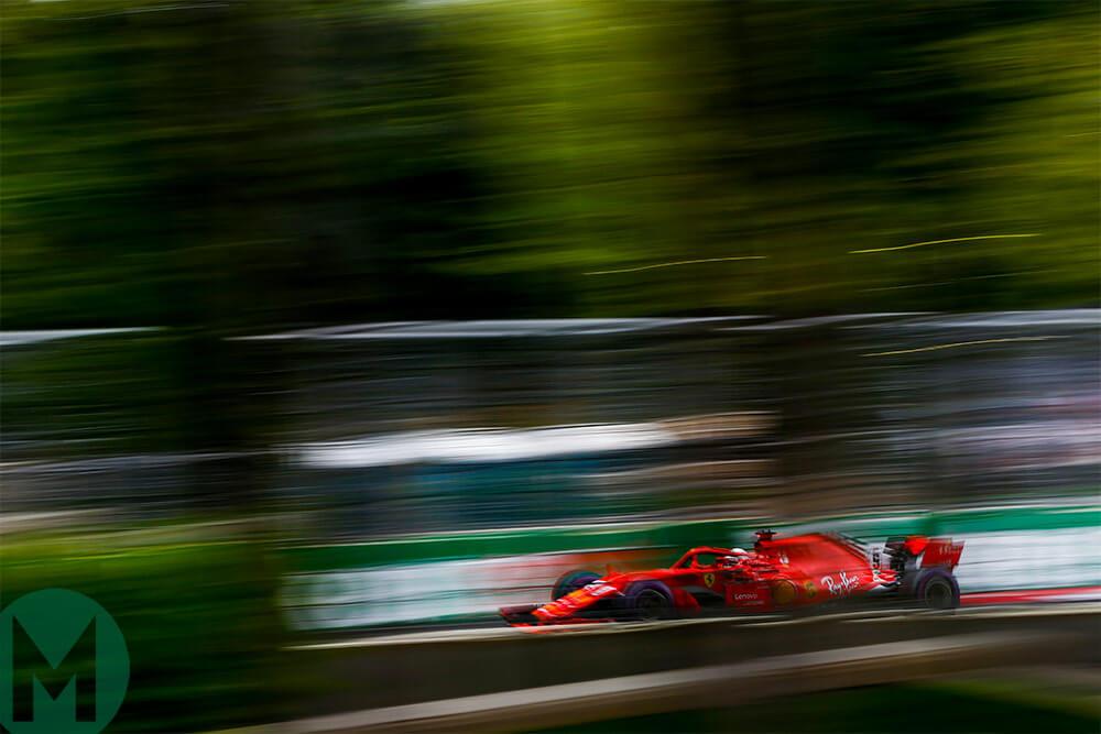 Vettel on pole after Azerbaijan F1 GP qualifying