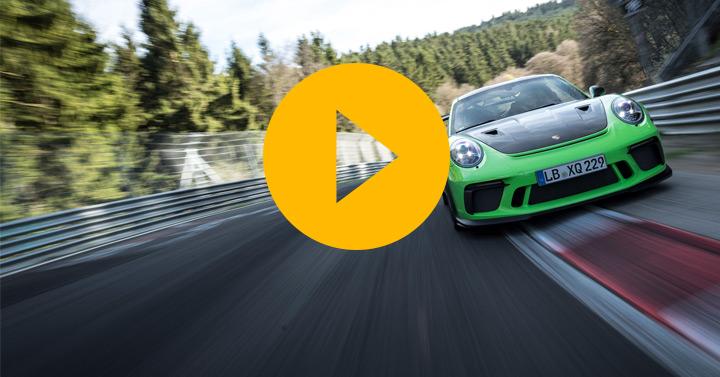 Porsche GT3 RS breaks 7min barrier
